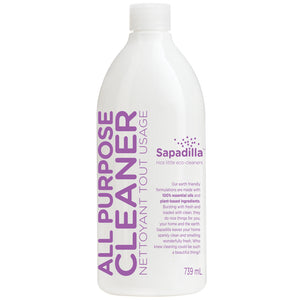 Sapadilla All Purpose Cleaner - BULK - Sweet Lavender and Lime