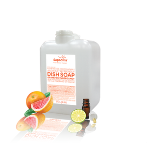 Sapadilla Dish Soap - BULK - Grapefruit and Bergamont