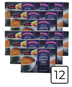 Mayflower Curry Sauce Mix Extra Hot 12-pack