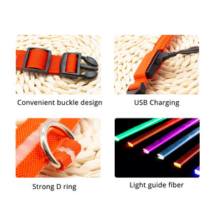 USB Led Dog Collar