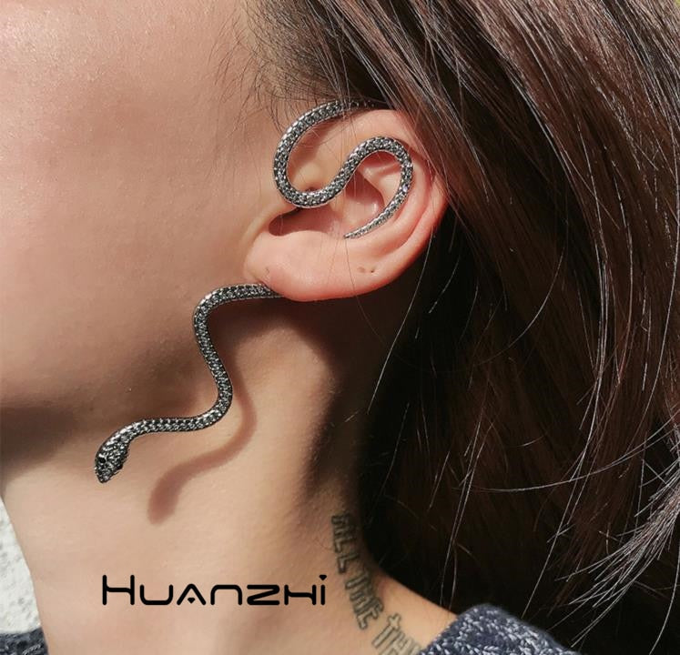 Earrings Fashion Snake (Cód.150401)