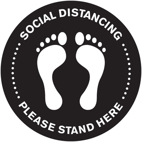 Social Distance Markings