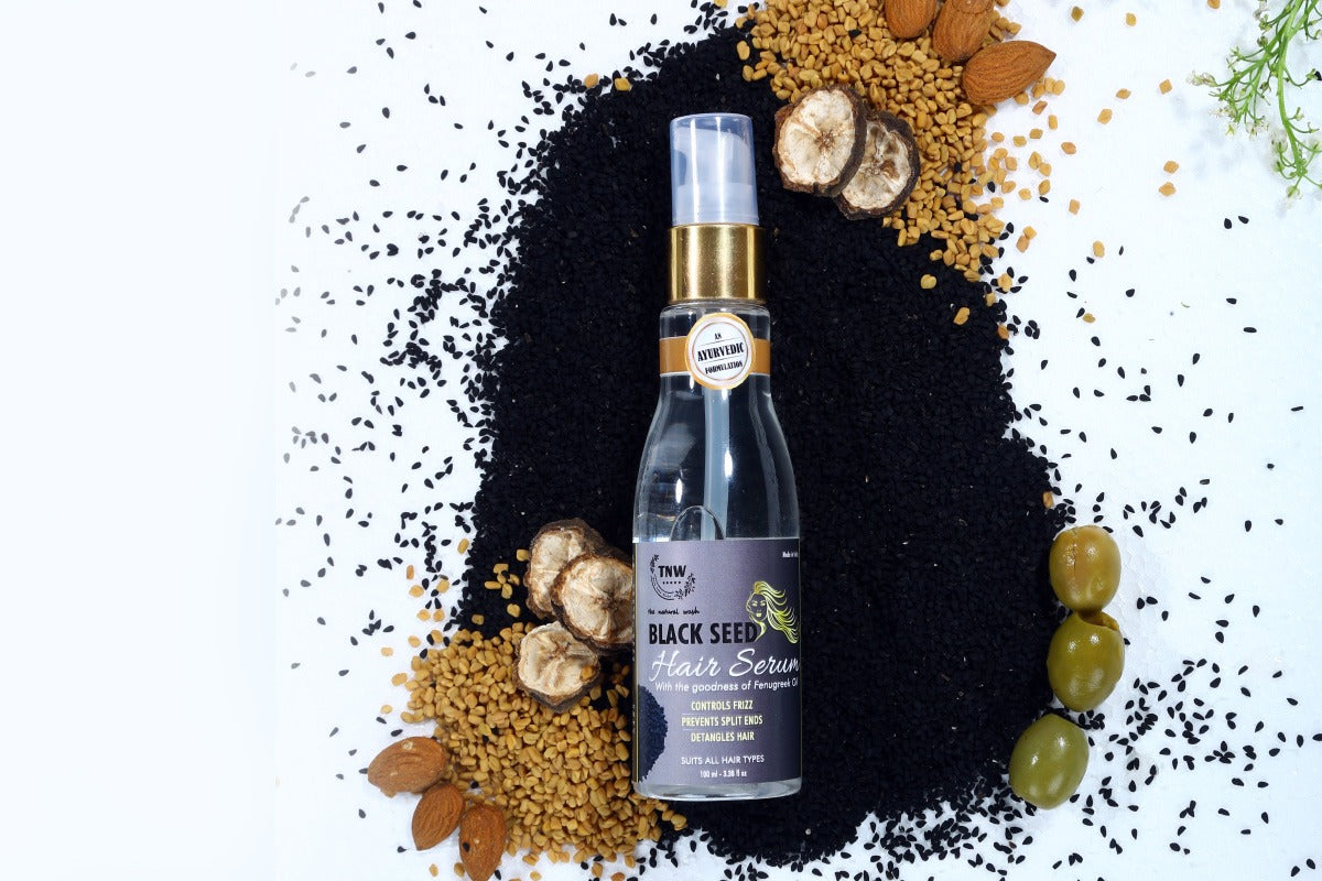TNW BLACK SEED HAIR SERUM with goodness of Fenugreek Seed