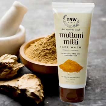 Multani mitti Facewash Removes Pimples