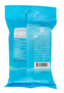 Fresh Feet Wipes - Peppermint resealable 25ct - SET OF 4