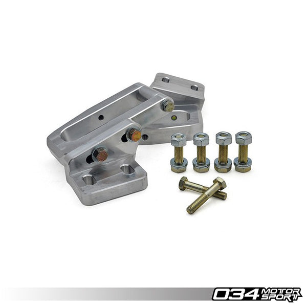 034Motorsport BILLET ALUMINUM REAR SUBFRAME REINFORCEMENT KIT -- Audi (B4) S2/RS2, (B5) A4/S4/RS4 Quattro