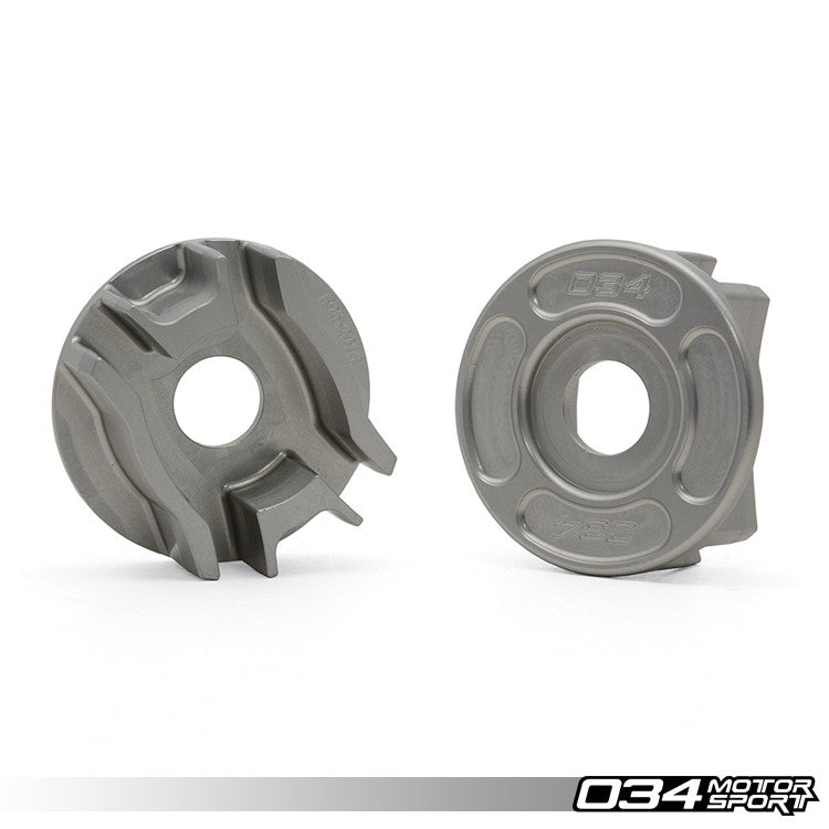 034Motorsport - 034-505-2016 - REAR DIFFERENTIAL CARRIER MOUNT INSERT KIT -- Audi (B8) A4/S4/RS4, A5/S5/RS5, Q5/SQ5; (C7) A6/S6/RS6, A7/S7/RS7 -- Quattro models