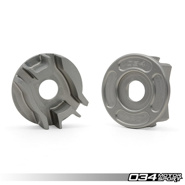 034Motorsport REAR DIFFERENTIAL CARRIER MOUNT INSERT KIT -- Audi (B8) A4/S4/RS4, A5/S5/RS5, Q5/SQ5; (C7) A6/S6/RS6, A7/S7/RS7 -- Quattro models