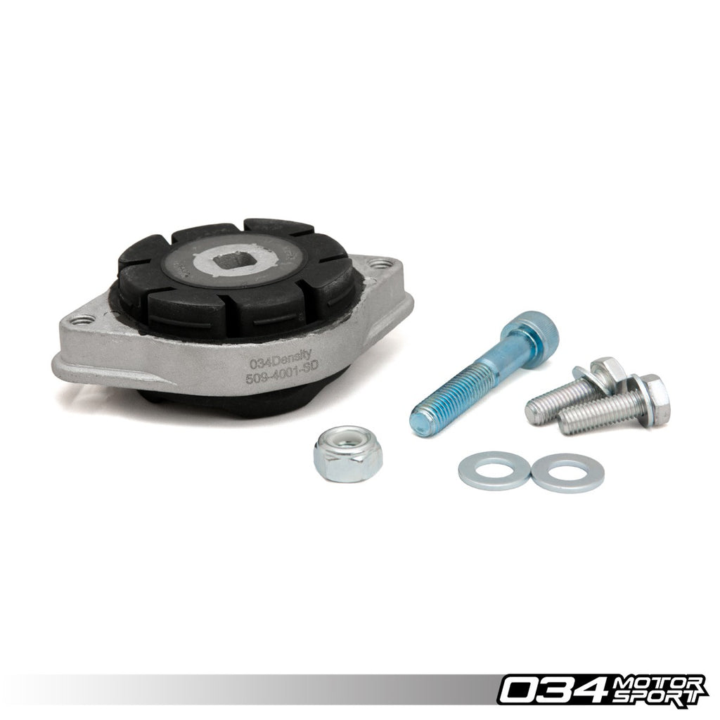 034Motorsport TRANSMISSION MOUNT, DENSITY LINE, 6-SPEED MANUAL & CVT -- Audi (B6/B7) A4/S4/RS4