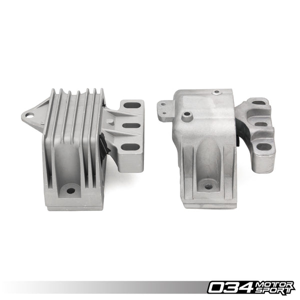 034Motorsport - 034-509-5006 - MOTOR MOUNT PAIR, DENSITY LINE -- Audi (Mk1) TT; Volkswagen (Mk4) Golf, R32 & Jetta -- with 2.8L,/3.2L VR6 engines --Manual Transmissions ONLY