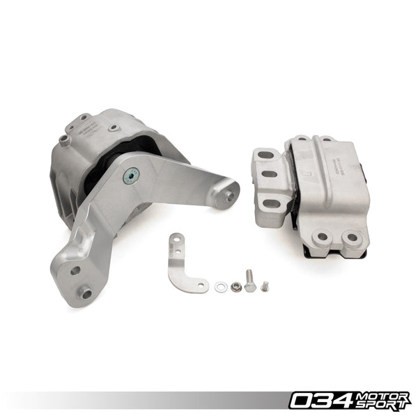 034Motorsport - 034-509-5017-SD - DENSITY LINE MOTOR MOUNT PAIR -- Volkswagen (Mk5/Mk6) Golf/Rabbit & Jetta, (B7) Passat (Mk4/Mk6) New Beetle -- 2.5L