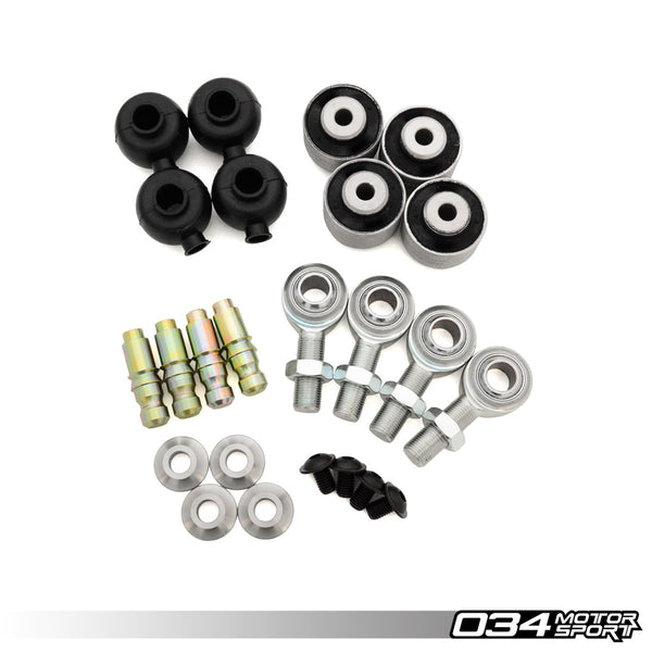 034Motorsport - 034-401-Z054 - REBUILD KIT, DENSITY LINE ADJUSTABLE FRONT UPPER CONTROL ARMS -- Audi (B8/B8.5) A4/S4/RS4