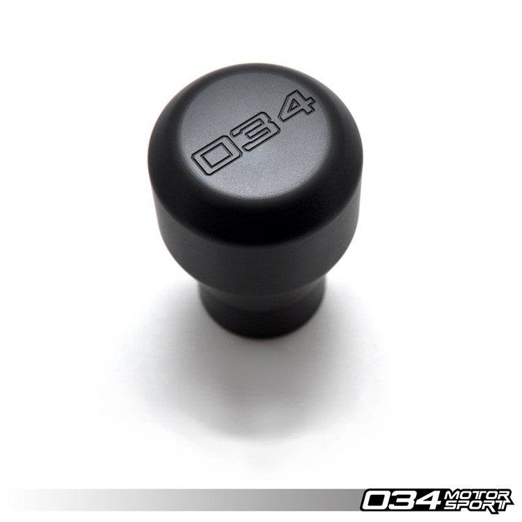 034Motorsport WEIGHTED DELRIN SHIFT KNOB -- B5 & C5 chassis (12mm X 1.5 threaded screw)