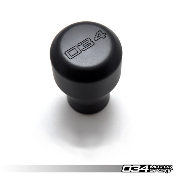034Motorsport - 034-508-2000 - WEIGHTED DELRIN SHIFT KNOB -- B5 & C5 chassis (12mm X 1.5 threaded screw)