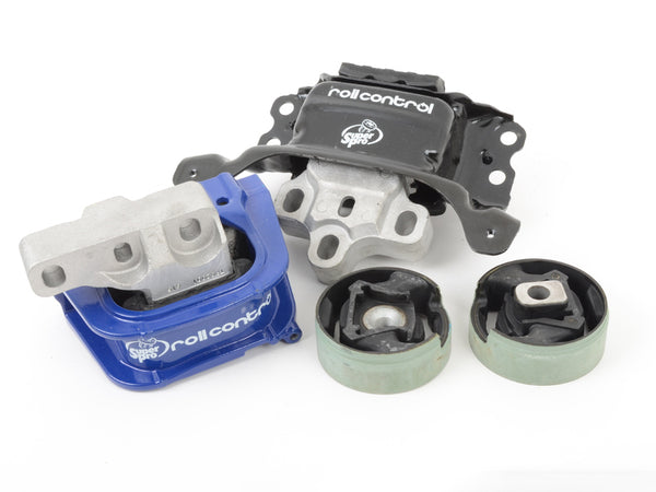 SuperPro - TRC2001 - POLYELAST ENGINE MOUNT KIT -- AUDI (Mk3) A3 Quattro; Volkswagen (Mk7) Golf 4motion & FWD
