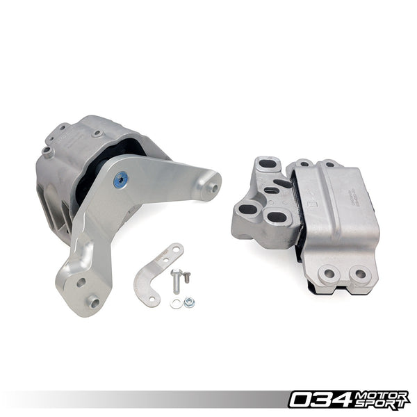 034Motorsport - 034-509-5019-SD - ENGINE/TRANSMISSION MOUNT PAIR, STREET DENSITY -- Audi (Mk2) TT RS 2.5 TFSi, 6-Speed Manual only