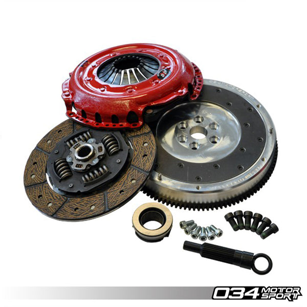034Motorsport - 034-502-0007 - FLYWHEEL WITH SOUTHBEND CLUTCH PACKAGE -- Audi (B3) S2; (B4) RS2 7A engines