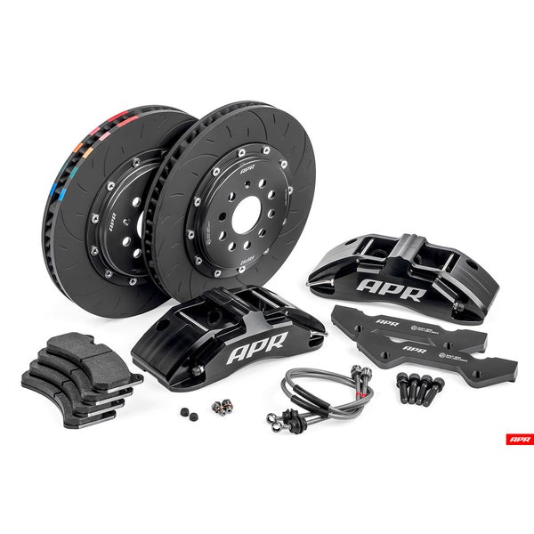 APR - BRK00002 - 350x34mm 6 PISTON BRAKES (BLACK) - Mk7 Golf GTi