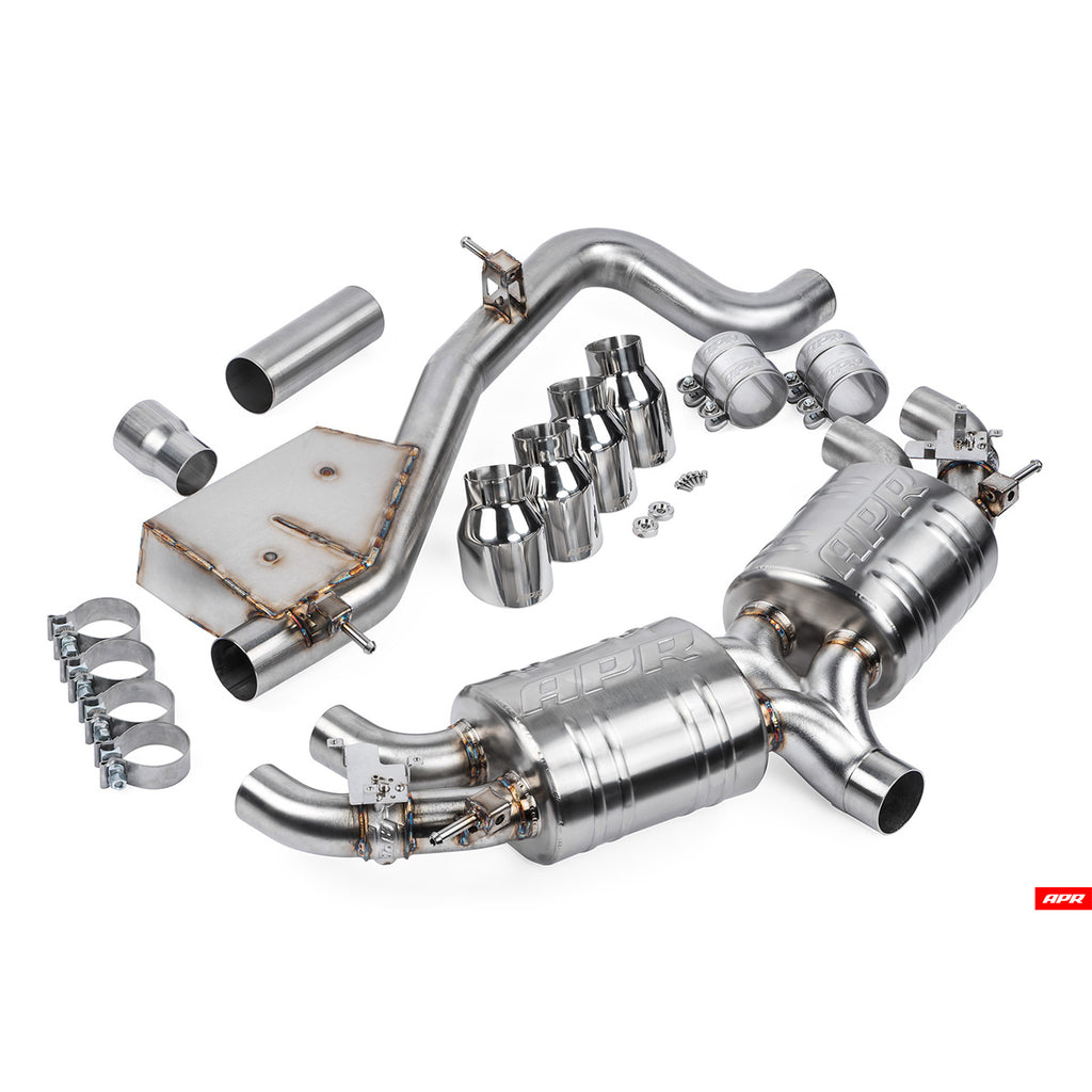 APR - CBK0002 - Mk7 CATBACK EXHAUST SYSTEM--Golf R Hatchback (Typ 5G) (Pre-Facelift)