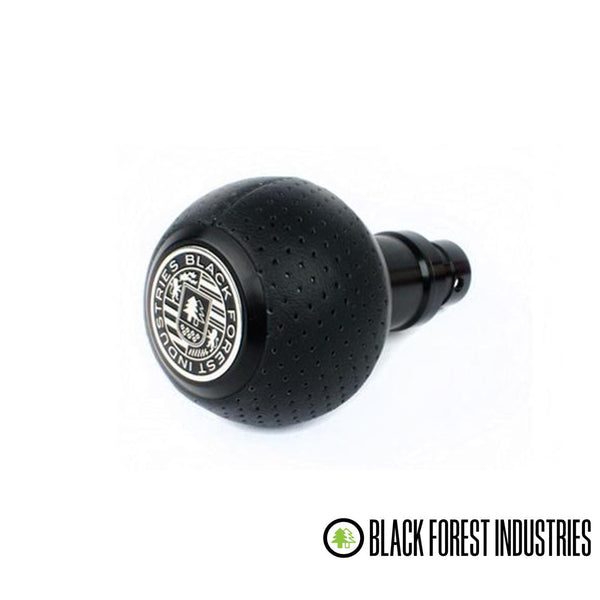 BFI -- GS2DGS -- Heavy Weight Shift Knob SCHWARZ - Air Leather (VW/Audi DSG & Automatic)