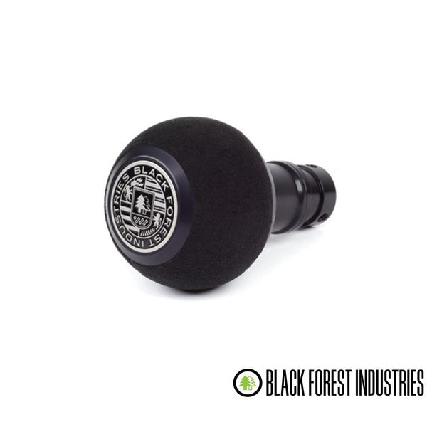BFI -- GS2DGSU -- Heavy Weight Shift Knob SCHWARZ - Black Alcantara (VW/Audi DSG & Automatic)