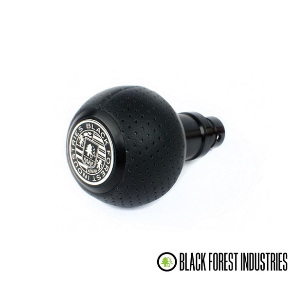 BFI -- GS2S -- Heavy Weight Shift Knob SCHWARZ - Air Leather (VW/Audi Fitment)