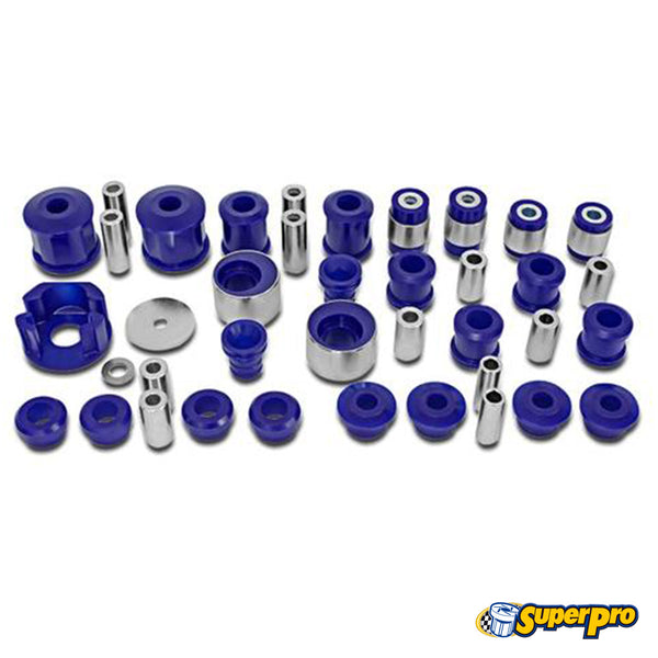 SuperPro - KIT5239K - VEHICLE MASTER KIT--FAST ROAD/COMPETITION USE -- Audi (Mk2) A3 & TT; Volkswagen (Mk5/Mk6) Golf/Rabbit/GTi/R32/R & Jetta, Passat, CC
