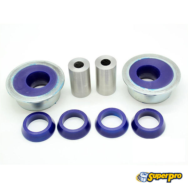 SuperPro - SPF4178K - FRONT LOWER CONTROL ARM--REAR POSITION BUSHING (DOUBLE OFFSET) -- Audi (Mk3) A3 (2WD & Quattro); Volkswagen (Mk7) Golf (FWD and 4motion); Jetta (Mk6), New Beetle, Passat (B8)