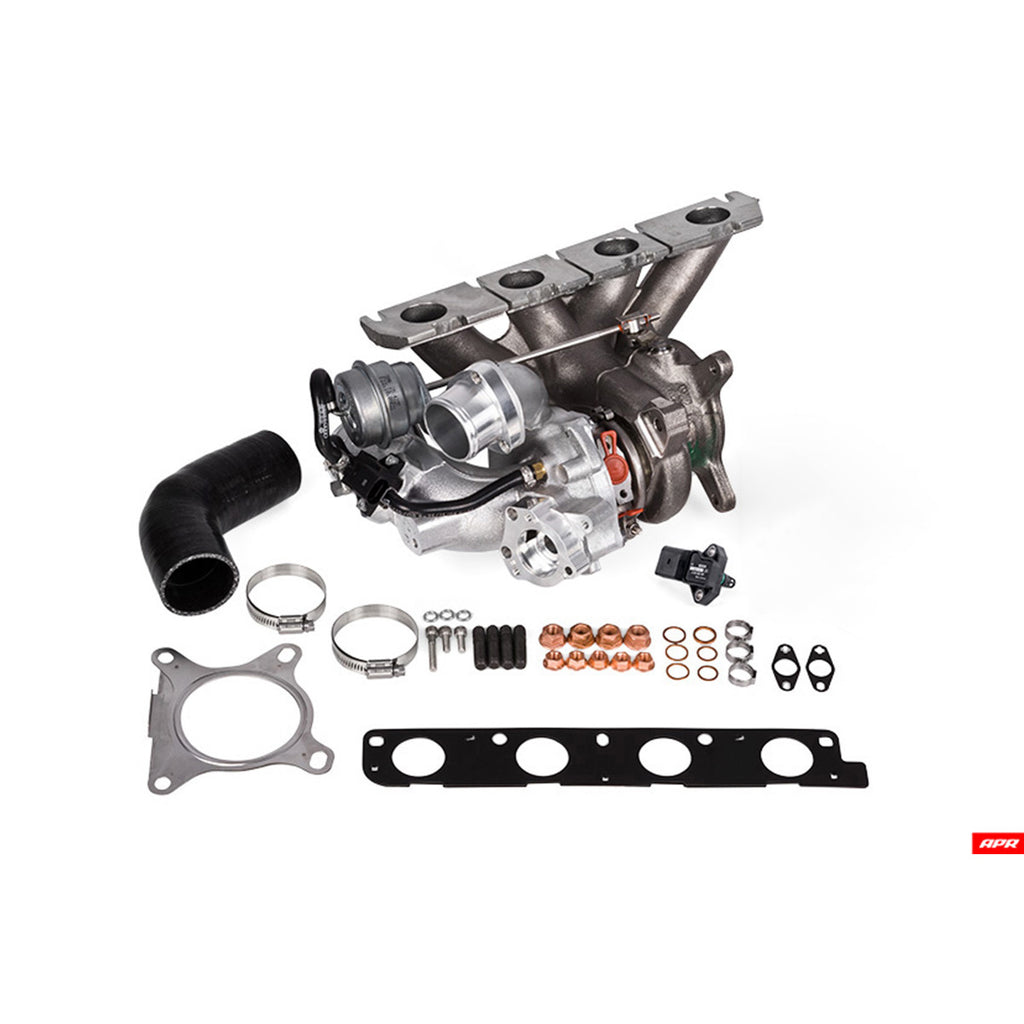 APR - T2100011 - 2.0T FSI S3/GOLF-R K04 TURBOCHARGER SYSTEM -- BARE BONES KIT; NO SOFTWARE