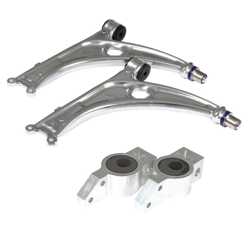 VWRacingLine Cup Edition Front Suspension Alloy Control Arm Kit All Mk5/6 Golf inc. GTi and R