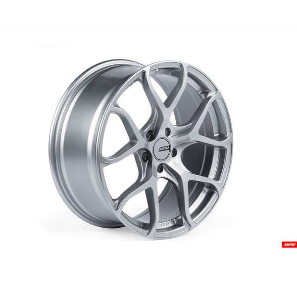 APR - WHL00001 - FLOW-FORMED WHEELS, HYPER SILVER --  5X112 Bolt Pattern (1 Wheel)
