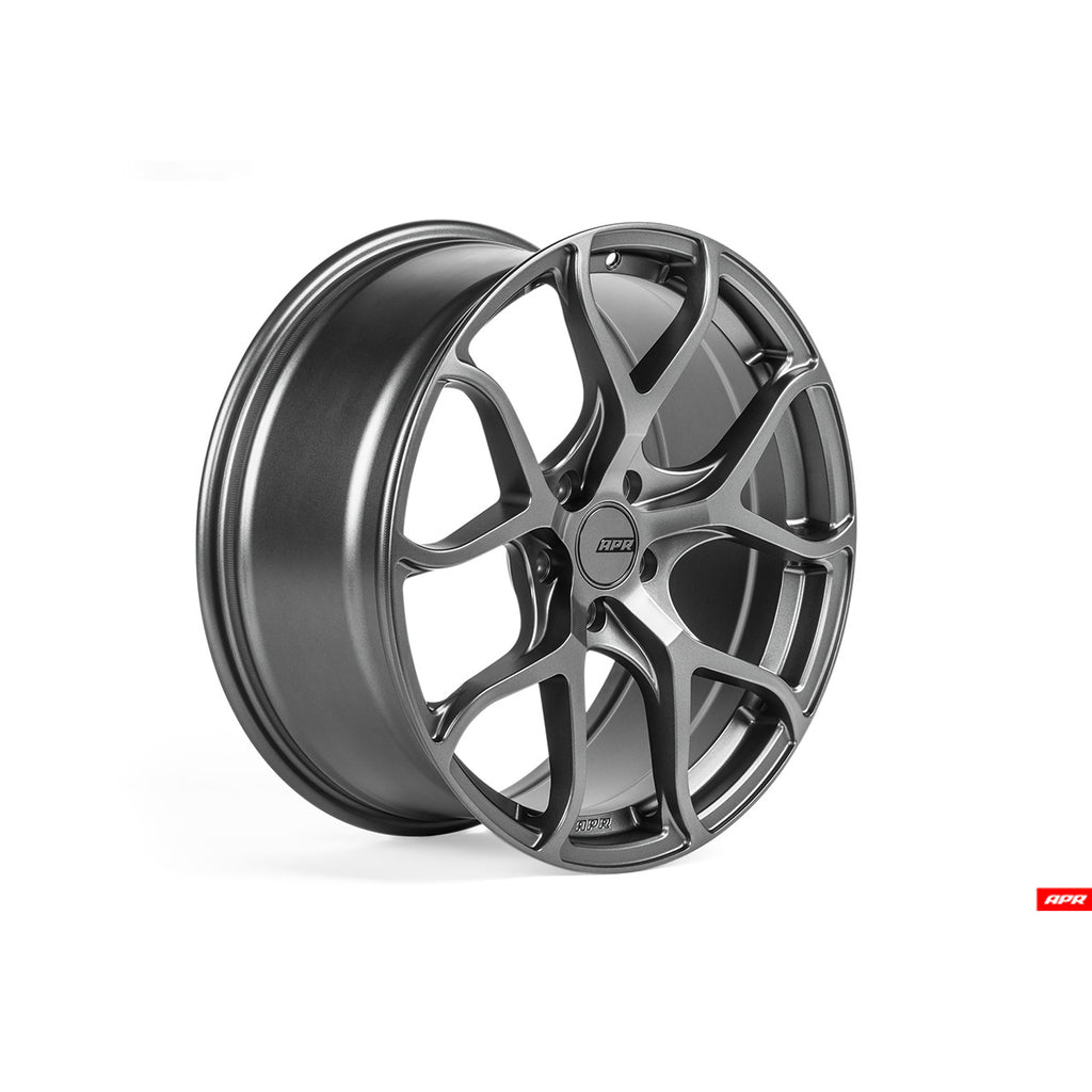 APR - WHL00002 - FLOW-FORMED WHEELS, GUNMETAL GREY --  5X112 Bolt Pattern (1 Wheel)