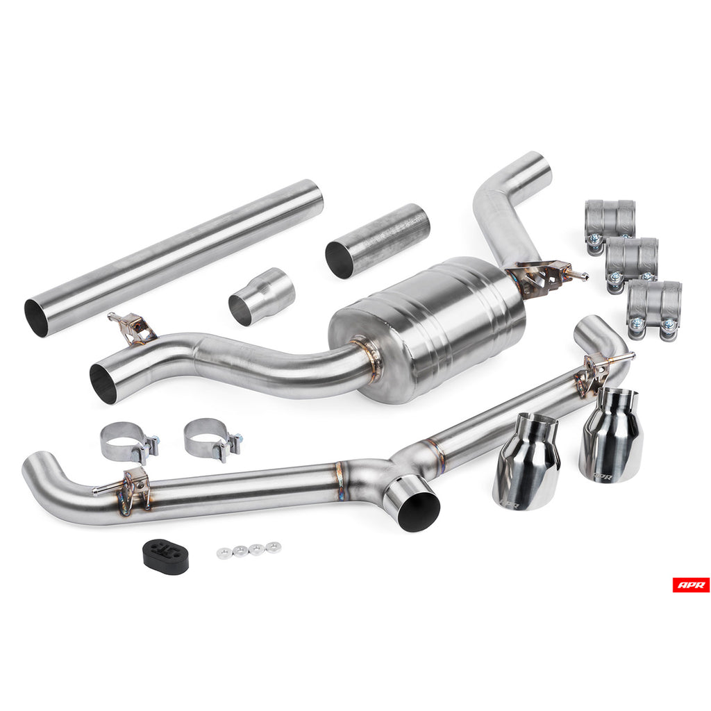 APR - CBK0007 - MK7 GTI CATBACK EXHAUST SYSTEM -- VW Mk7.5 GTi/Clubsport (Typ 5G) (Post-Facelift)