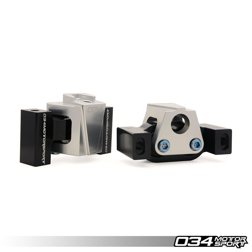 034Motorsport BILLET MOTORSPORT ENGINE MOUNT PAIR -- Audi (B8/B8.5) A4/S4, A5/S5, Q5/SQ5