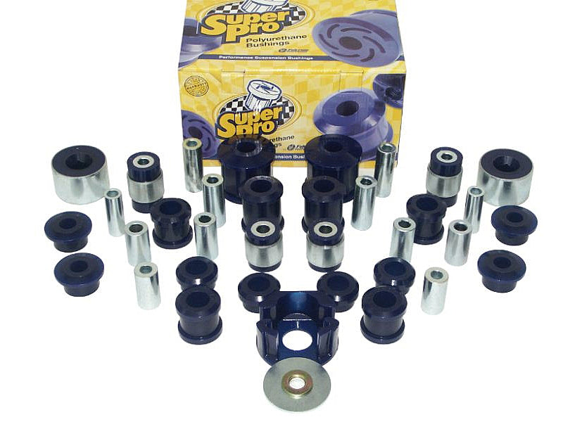 SuperPro VEHICLE MASTER KIT--ROAD USE -- Audi (Mk2) A3 & TT; Volkswagen (Mk5/Mk6) Golf/Rabbit/GTi/R32, Jetta, Passat, CC -- FWD & AWD vehicles.