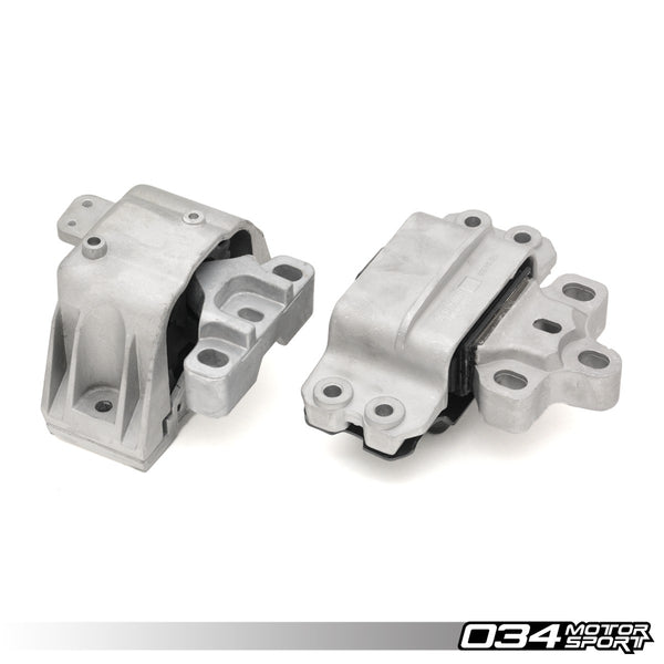 034Motorsport - 034-509-5004 - MOTOR MOUNT PAIR, DENSITY LINE -- Audi (Mk2) A3 & TT; Volkswagen (Mk5) Golf R32 & Eos -- with 3.2L 24v VR6 engines
