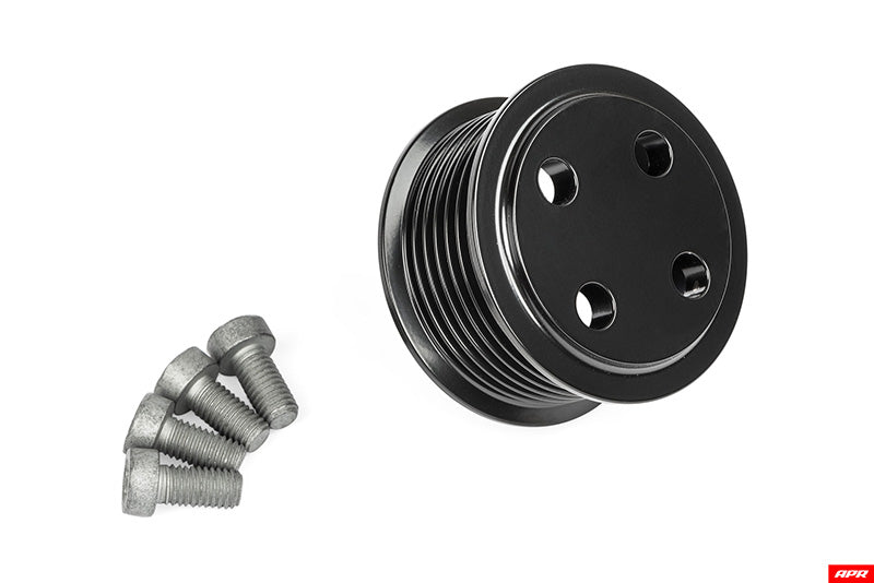 APR SUPERCHARGER DRIVE PULLEY (57.75 mm) -- Bolt on (3.0T Gen 2 Simos 16.x)