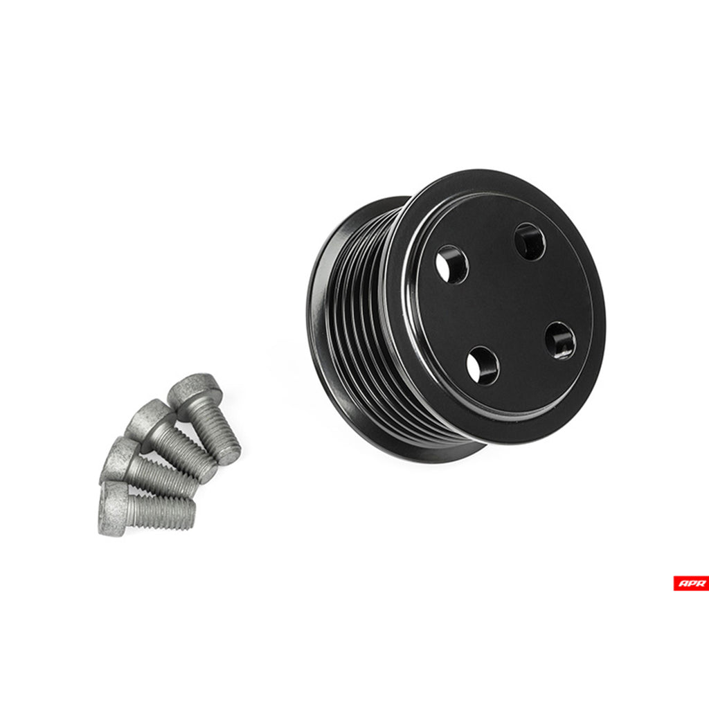 APR - MS100139 - SUPERCHARGER DRIVE PULLEY (57.75 mm) -- Bolt on (3.0T Gen 2 Simos 16.x)