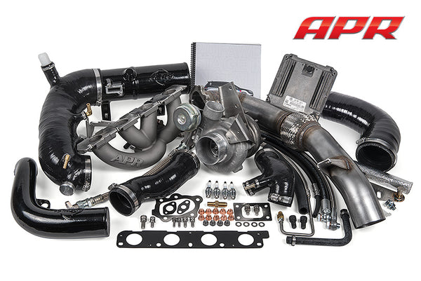 APR STAGE III GTX TURBOCHARGER SYSTEM (Includes Software) -- Audi S3 and Volkswagen Golf R