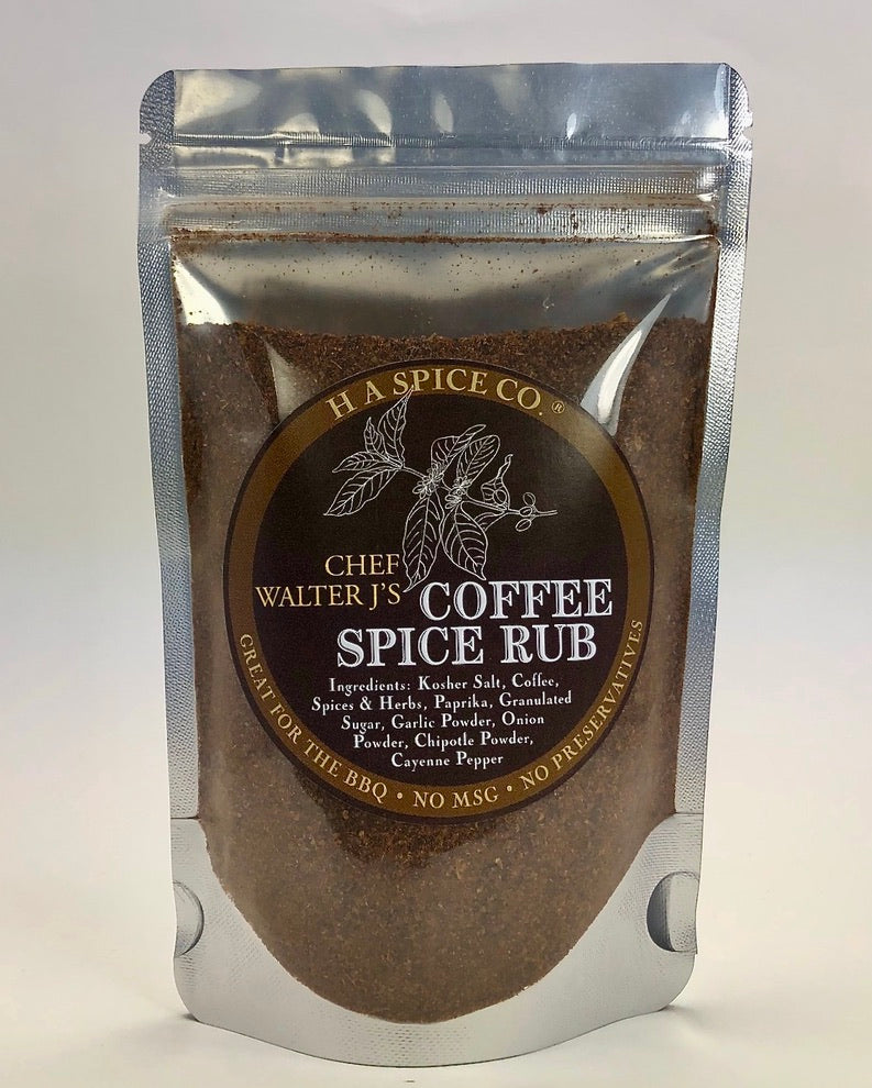 Chef Walter J's Coffee Spice Rub Pouch