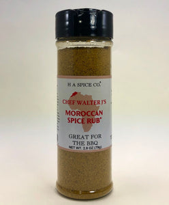 Chef Walter J's Moroccan Spice Rub Shaker Bottle