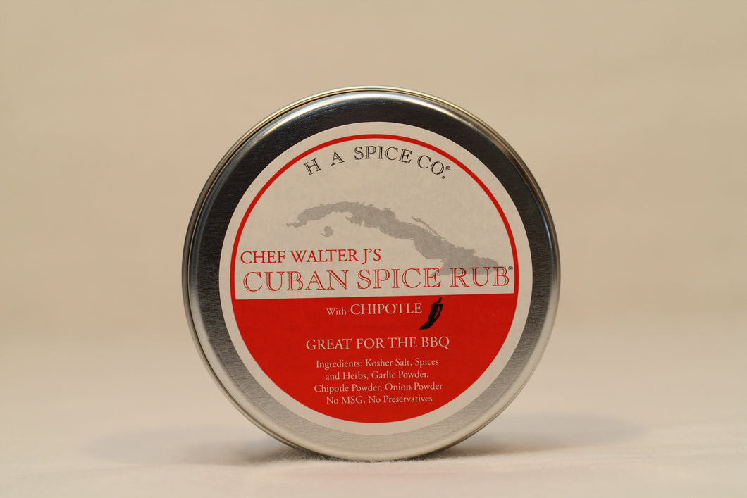 Chef Walter J's Cuban Spice Rub® with Chipotle Tin