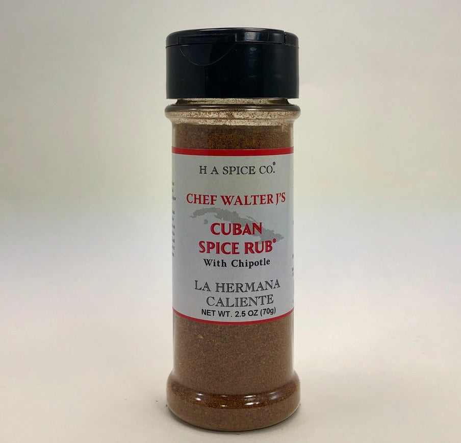 Chef Walter J's Cuban Spice Rub® with Chipotle Shaker