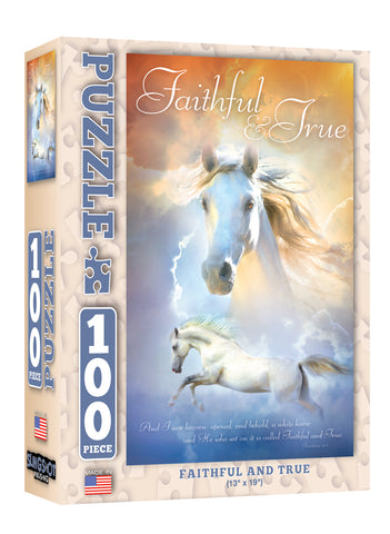 Faithful and True - Christian Puzzles (100 Pieces)