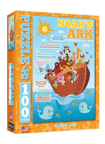 Noah's Ark - Christian Puzzles (100 Pieces)