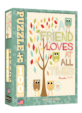 Owl Friends - Christian Puzzles (100 Pieces)
