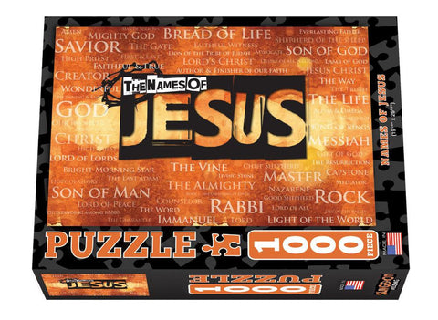 Names of Jesus - Christian Puzzles (1,000 Pieces)