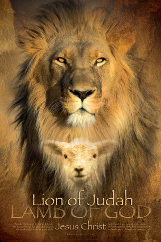 Judah Lion - Christian Posters