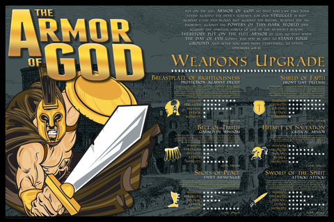 Armor of God - Christian Posters
