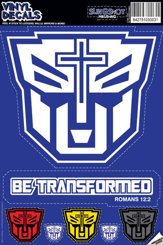 Transformed - Christian Vinyl Decal